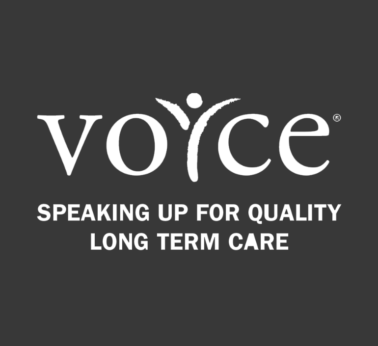 Voyce speaking up for quality long term care